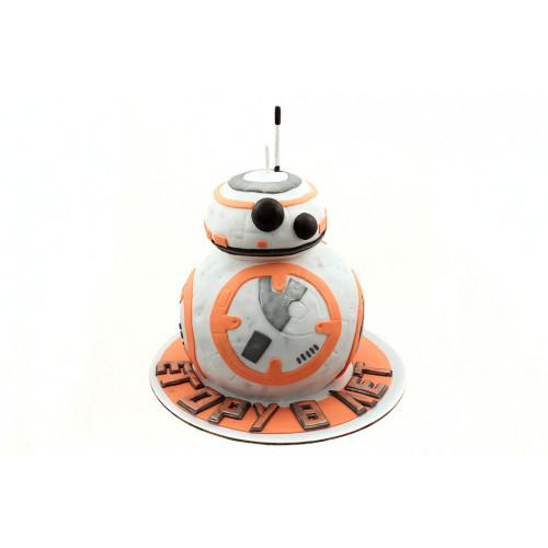 Торт Звёздные войны Дроид BB-8