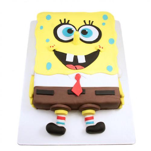 Торт Губка Боб квадратные штаны
