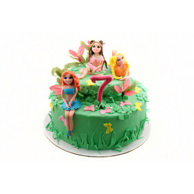 Торт Винкс с феями