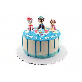 Торт Щенячий патруль в глазури