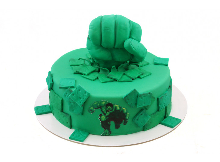 Торт Халк Кулак