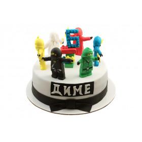 Торт Ниндзяго Лего