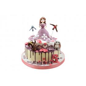 Торт принцесса София