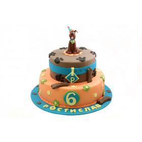 Торт Скуби Ду