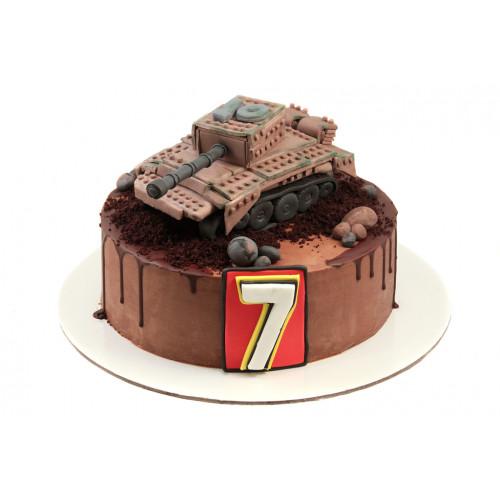 Торт Танк Лего