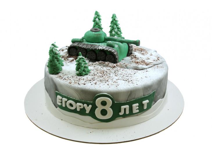 Торт с Танком