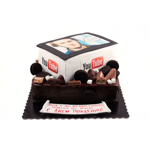 Торт Айпад с фотопечатью