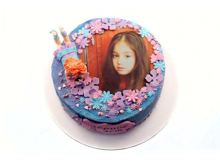 Торт Винкс с фотопечатью
