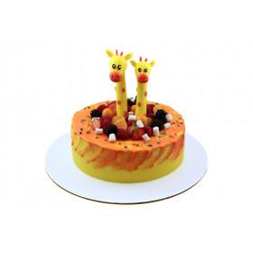 Торт жираф на два годика