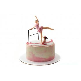 Торт Балерина без мастики