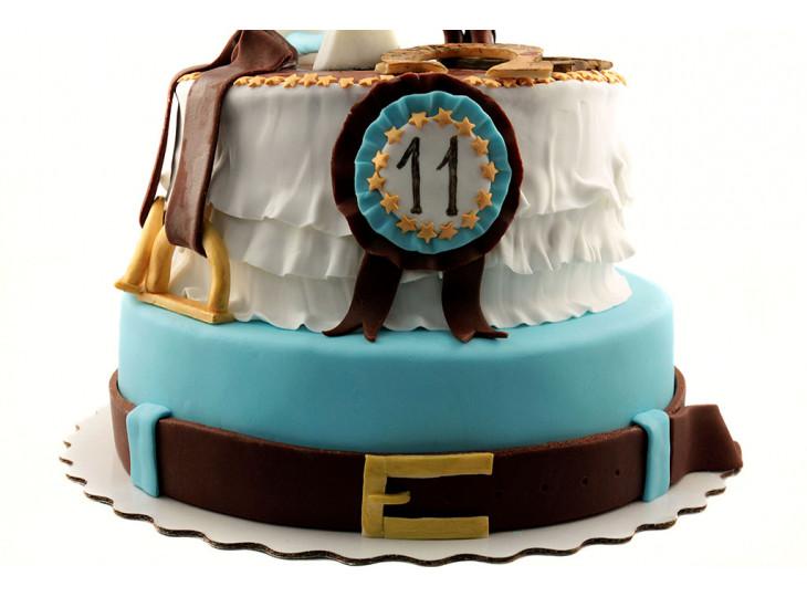 Торт с лошадью Конкур