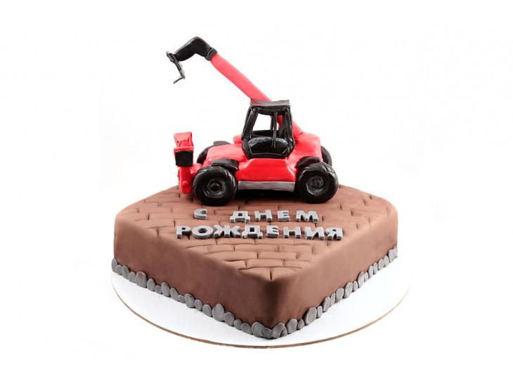 Торт Погрузчик