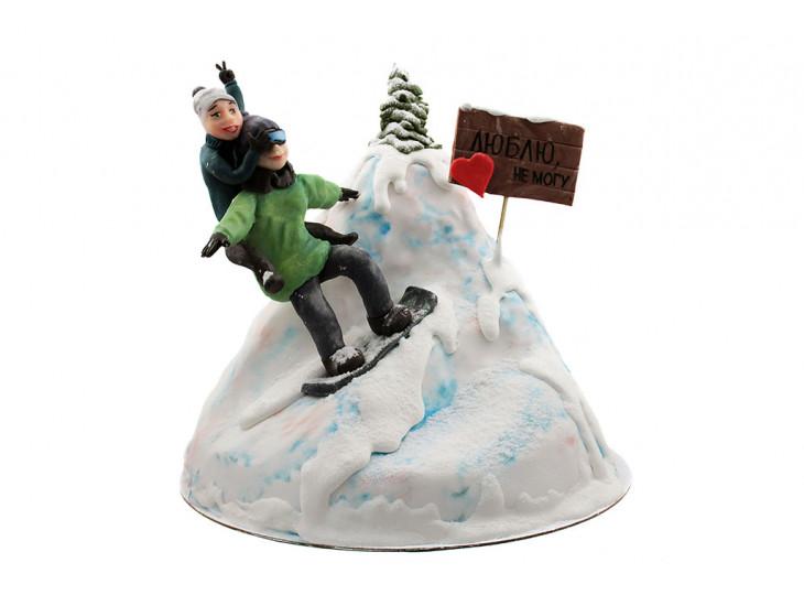 Торт для Сноубордиста