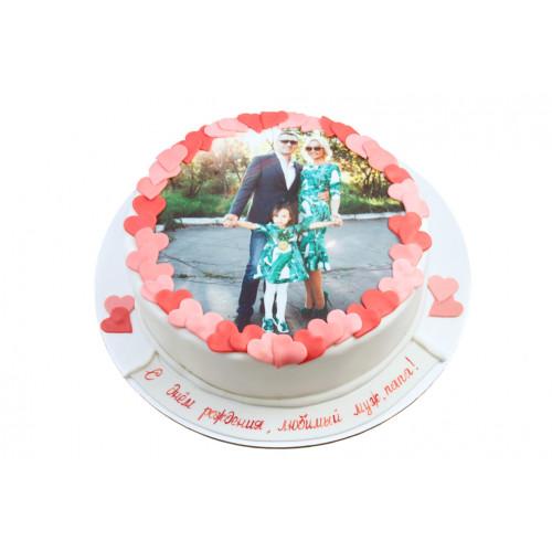 Торт для мужа с фотографией