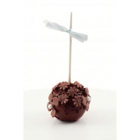 Кейк попсы Шоколадныe с цветочками