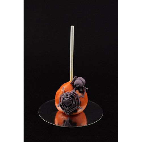 Кейк попсы на хеллоуин с пауком