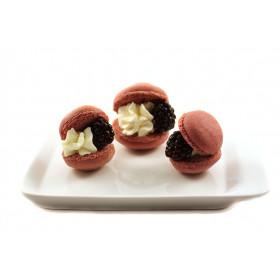 Макаронс с ягодами