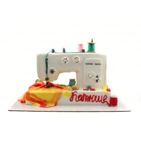 Торт Швейная Машинка Чайка