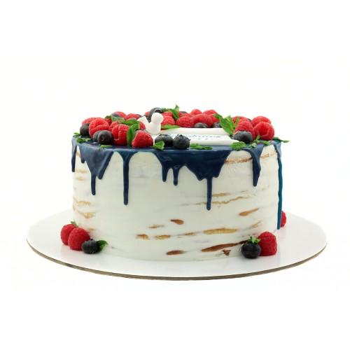 Открытый торт Крестины