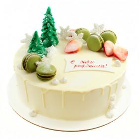 Зимний Торт на День рождение
