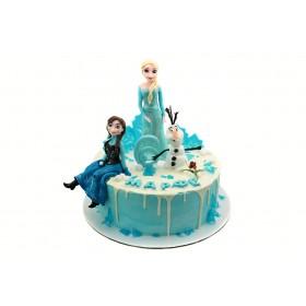 Торт Эльза и Анна Холодное сердце