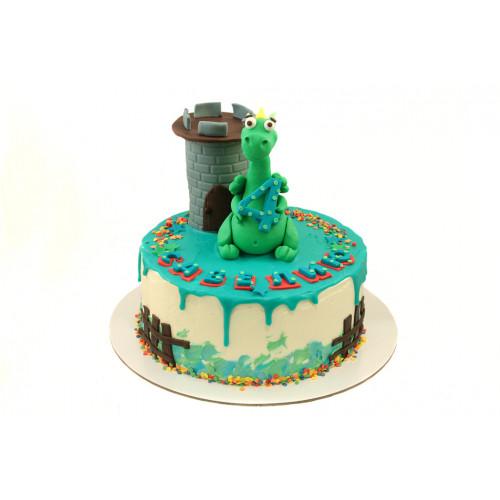 Торт Дракон из мастики