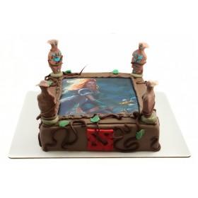 Торт Кристал Мейден из Дота 2