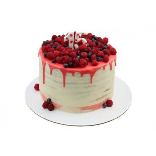 Торт на 15 лет без мастики