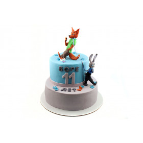 Торт Зверополис