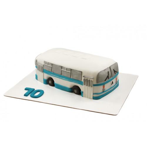 Торт в виде автобуса