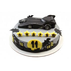 Торт Бэтмен машина