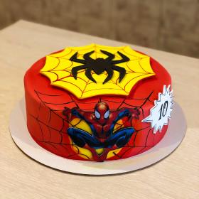 Торт Человек Паук на 10 Лет