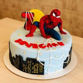 Торт Человек Паук для мальчика