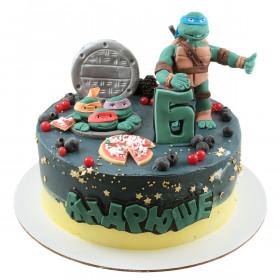 Торт Черепашки Ниндзя для мальчика