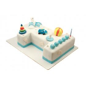 3Д торт Цифра 1
