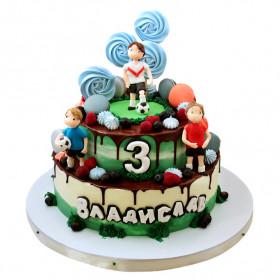 Торт для футболистов