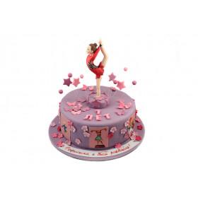 Торт для гимнастки.