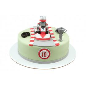 Торт для гонщика