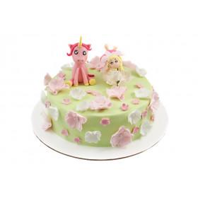Торт для малыша Единорог и Фея