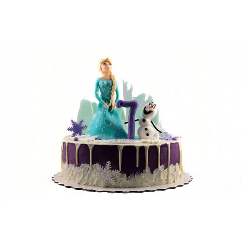 Торт Эльза и Олаф