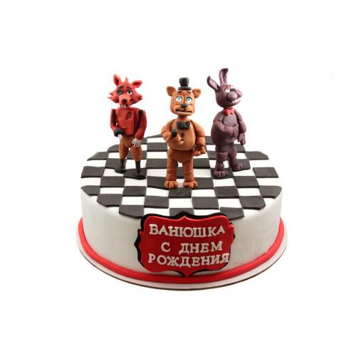 Детский торт мишка фредди
