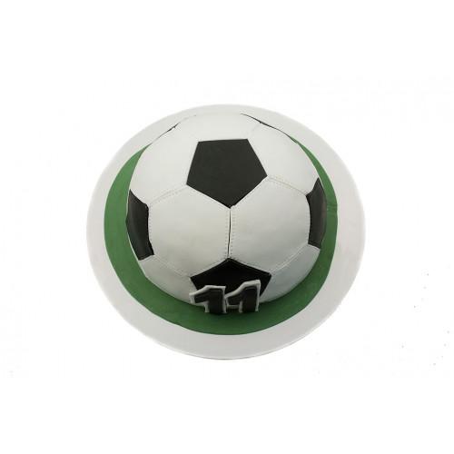 Торт Футбольный мяч из мастики