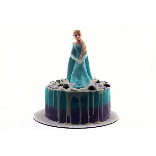 Торт Эльза Холодное сердце