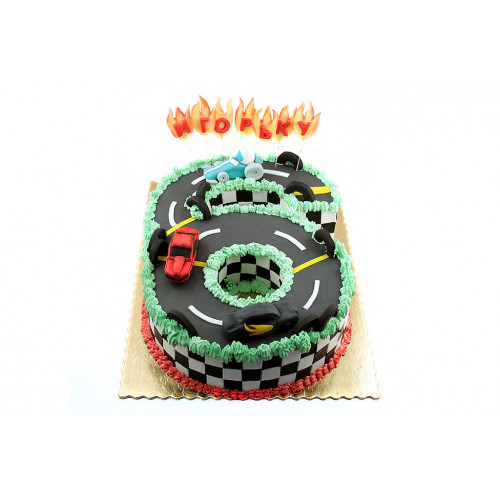 Торт Хот Вилс
