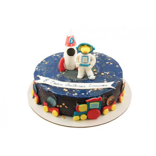 Детский торт космонавт