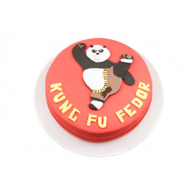 Торт с Кунг Фу Панда.