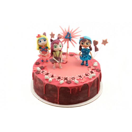 Детский торт с Литтл Чармес