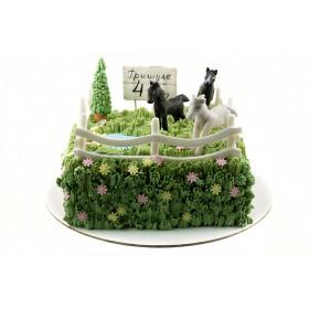 Торт лошадки