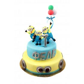 Торт Миньоны без глютена