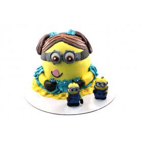 Торт миньон из мастики 3Д
